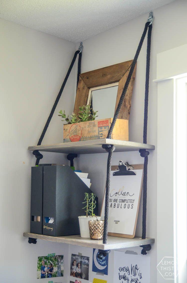 ایده هایی برای استفاده از قفسه های دیواری آویزان در دکوراسیون داخلی